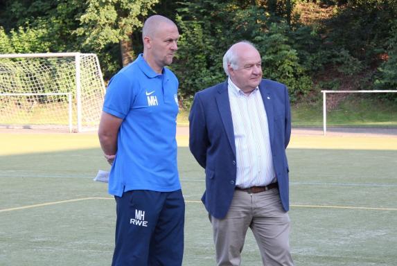 Willi Wißing, Markus Högner, SGS Essen, Saison 2015/16, Willi Wißing, Markus Högner, SGS Essen, Saison 2015/16