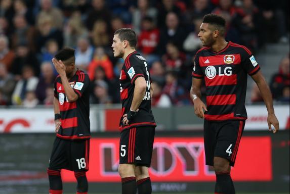 Bayer Leverkusen, Enttäuscht, Bayer 04 Leverkusen, Saison 2015/16, Bayer Leverkusen, Enttäuscht, Bayer 04 Leverkusen, Saison 2015/16