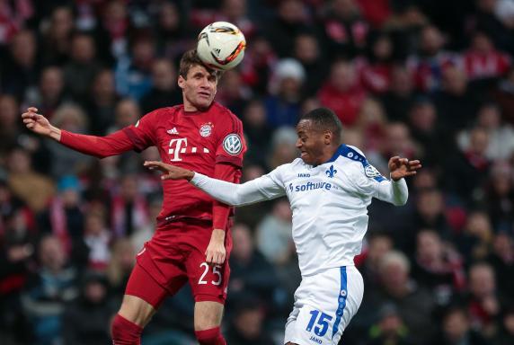 Thomas Müller, FC Bayern München, DFB-Pokal, SV Darmstadt 98, Junior Diaz