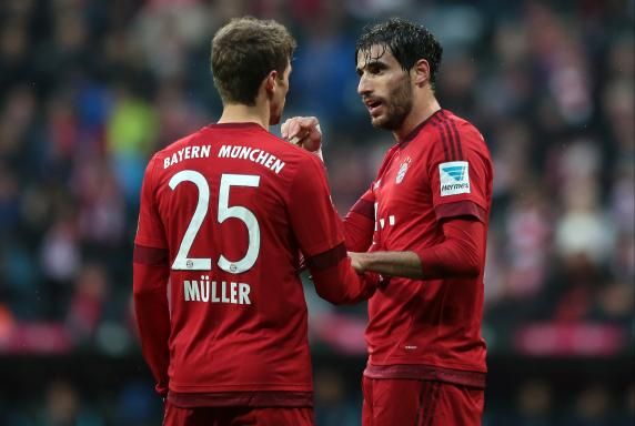 Thomas Müller, Javi Martinez, FC Bayern München