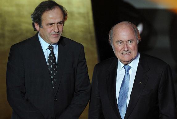 Joseph Blatter, Michel Platini, FIFA