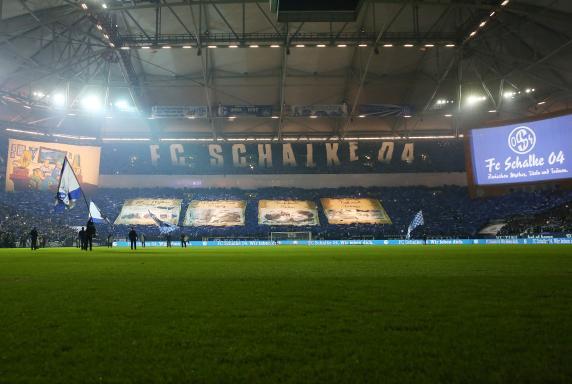 Schalke-Choreo, Schalke - Hannover, Schalke-Choreo, Schalke - Hannover