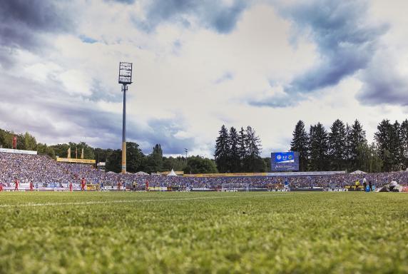 Stadion am Böllenfalltor, SV Darmstadt 98.
