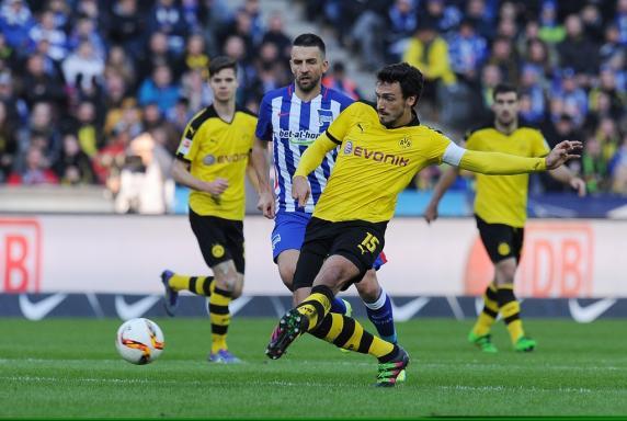 hertha bsc berlin, Bundesliga, Borussia Dortmund, Mats Hummels, Saison 2015/16, hertha bsc berlin, Bundesliga, Borussia Dortmund, Mats Hummels, Saison 2015/16