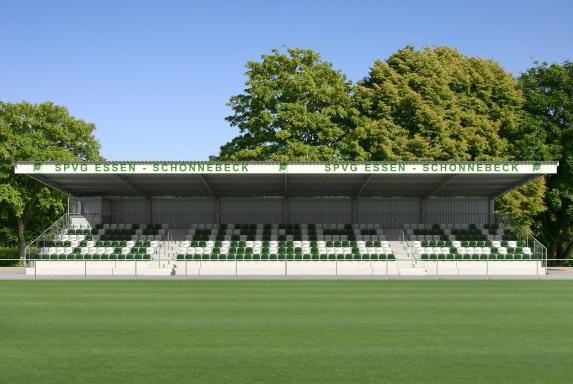 Tribüne, Schonnebeck, SV Schonnebeck, Tribüne, Schonnebeck, SV Schonnebeck