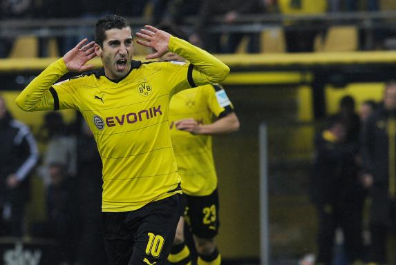 Borussia Dortmund, Henrikh Mkhitaryan, BVB - Hannover, Borussia Dortmund, Henrikh Mkhitaryan, BVB - Hannover