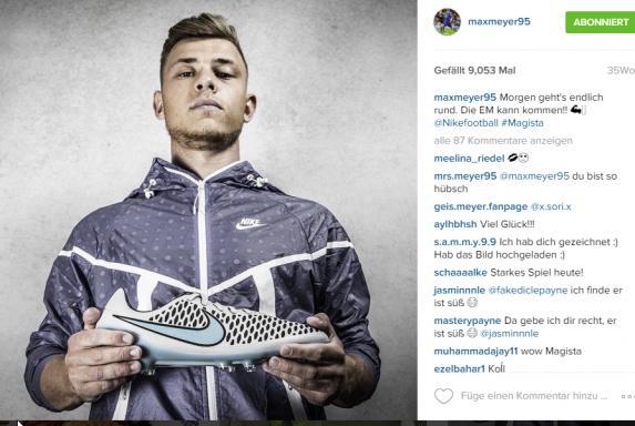 Social Media: Wie Fußballprofis ihre Werbung platzieren