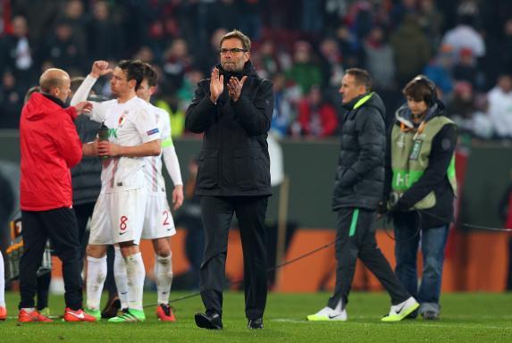 Jürgen Klopp, Augsburg - Liverpool, Jürgen Klopp, Augsburg - Liverpool