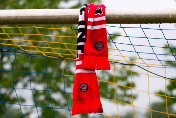 FC Eintracht Rheine, Schal, Symbolbild, Eintracht Rheine, Fanschal, FC Eintracht Rheine, Schal, Symbolbild, Eintracht Rheine, Fanschal