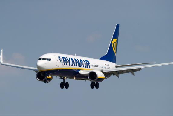 Symbol, Flugzeug, Ryanair, Symbol, Flugzeug, Ryanair