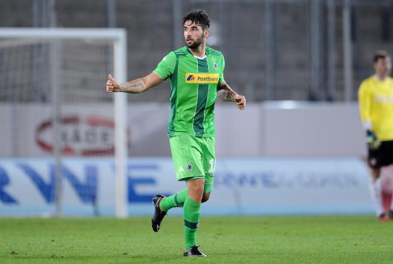 Rot-Weiss Essen, Giuseppe Pisano, Borussia Mönchengladbach II, Saison 2014/2015, Rot-Weiss Essen, Giuseppe Pisano, Borussia Mönchengladbach II, Saison 2014/2015
