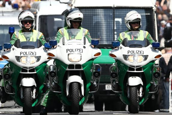 Polizei, Timo Kunert, Motorräder, Polizei, Timo Kunert, Motorräder