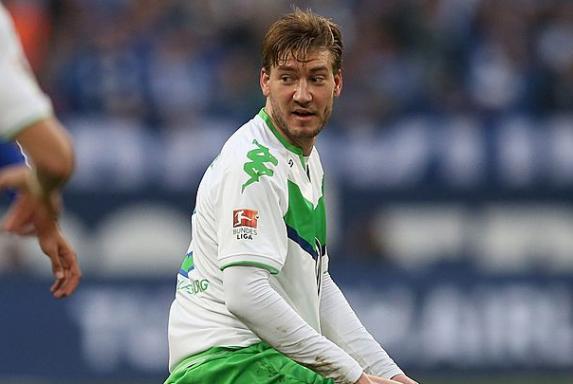 Wolfsburg: VfL stellt Nicklas Bendtner vom Training frei