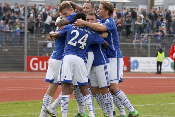SGW - S04 II: Schalke setzt die Serie fort