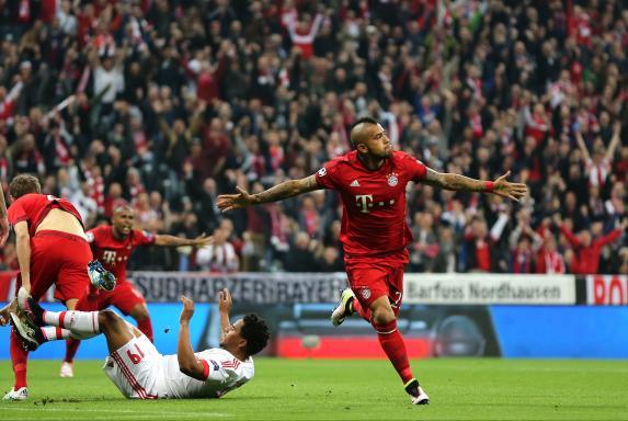CL: Nur Vidal trifft gegen Benfica Lissabon