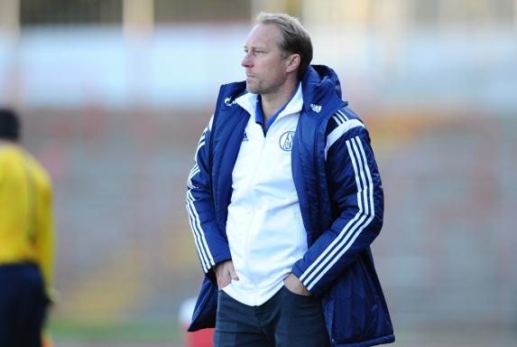 Trainer, Jürgen Luginger, Schalke 04 II, Regionalliga West, Saison 2014/15, Trainer, Jürgen Luginger, Schalke 04 II, Regionalliga West, Saison 2014/15