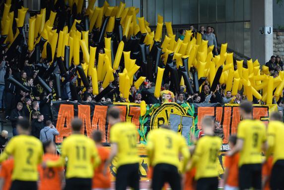 Fans, BVB II, Borussia Dortmund II, Fans, BVB II, Borussia Dortmund II