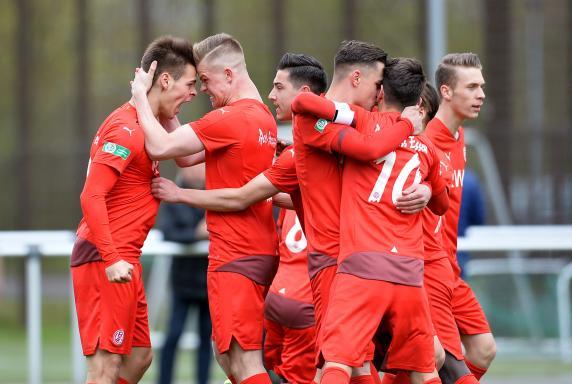 U19 Bundesliga: Tekiela schießt RWE zum Sieg