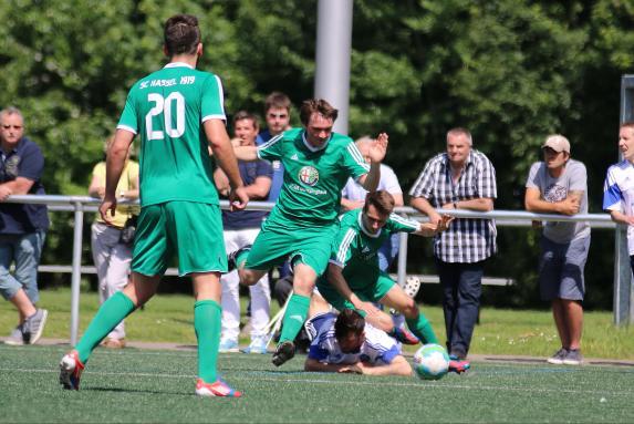 SC Hassel, TSV Marl-Hüls, Saison 2014/15, SC Hassel, TSV Marl-Hüls, Saison 2014/15