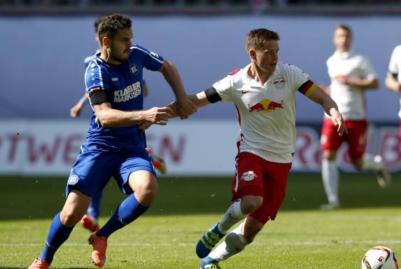 RB Leipzig feiert Aufstieg: In sieben Jahren in die Bundesliga