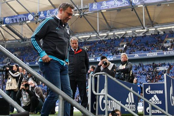 fc schalke 04, 1. Bundesliga, S04, Andre Breitenreiter, Saison 2015/16, fc schalke 04, 1. Bundesliga, S04, Andre Breitenreiter, Saison 2015/16