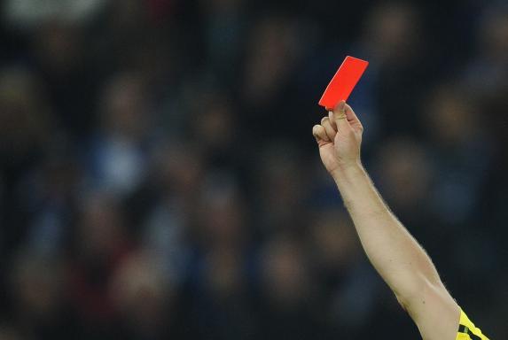 Rote Karte, Symbol, Rote Karte, Symbol