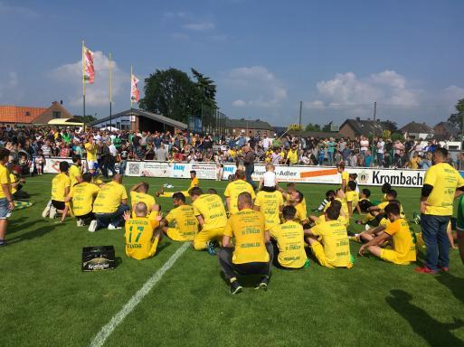 OL NR: SV Straelen feiert triumphalen Aufstiegs-Sieg