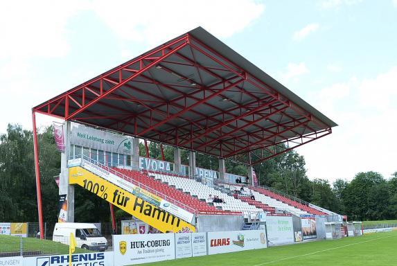 stadion, Oberliga Westfalen, Hamm, Hammer SpVg, EVORA-Arena, stadion, Oberliga Westfalen, Hamm, Hammer SpVg, EVORA-Arena