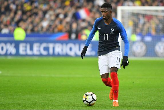 WM 2018: Deschamps kritisiert Ex-BVB-Star Dembélé