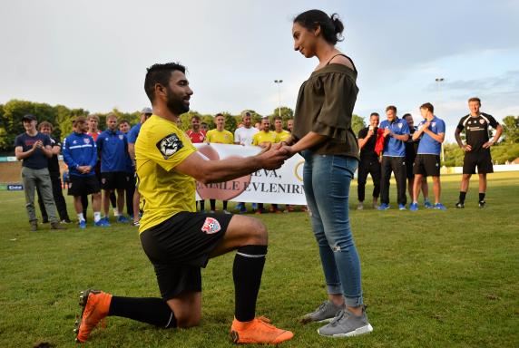 KFC Uerdingen: Heiratsantrag nach Testspiel gegen Mainz