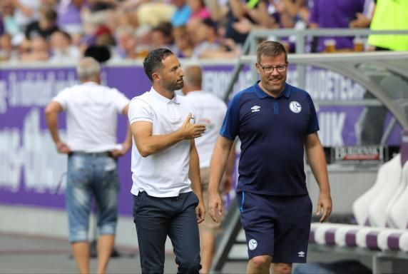 Schalke: Trainer Tedesco findet seine Spieler zu langsam