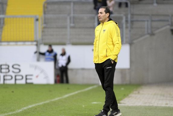 Alemannia-Trainer Fuat Kilic.