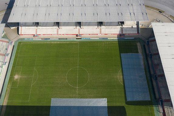 Das Stadion Essen bleibt weiter leer. In welcher Liga demnächst gespielt wird, das ist noch offen (