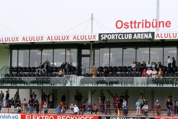 Die Sportclub Arena ist für die 3. Liga untauglich.