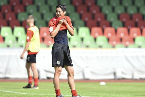 Shun Terada soll in der kommenden Saison für die Tore bei Rot-Weiß Oberhausen sorgen.