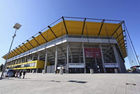 Das Tivoli-Stadion von Alemannia Aachen.