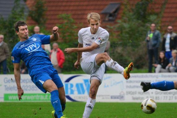 Jesse Weißenfels (rechts) erzielte in 38 Spielen 22 Tore für die Sportfreunde Lotte.