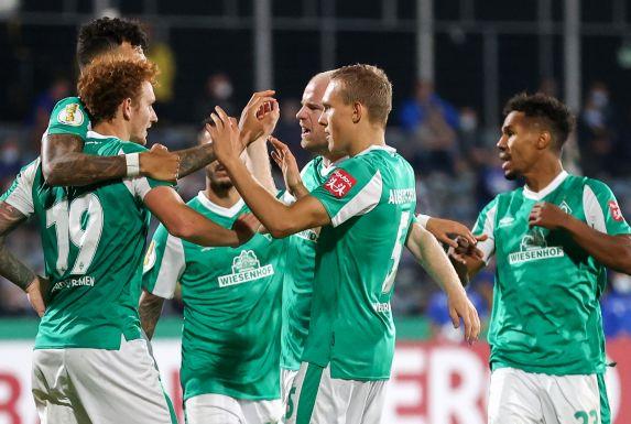 Werder Bremen schlug den Regionalligisten Carl Zeiss Jena.