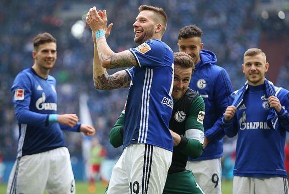 Guido Burgstaller steht vor einem Abschied vom FC Schalke 04.