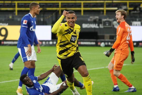 Manuel Akanji erzielte für den BVB das 1:0 gegen Schalke 04.