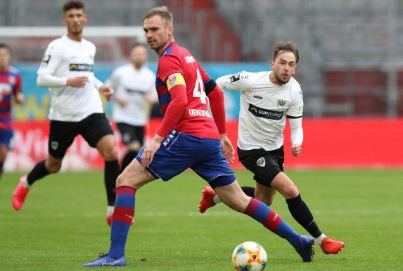 Jan Kirchhoff (M.) reiste mit dem KFC Uerdingen mit zum Auswärtsspiel bei 1860 München.