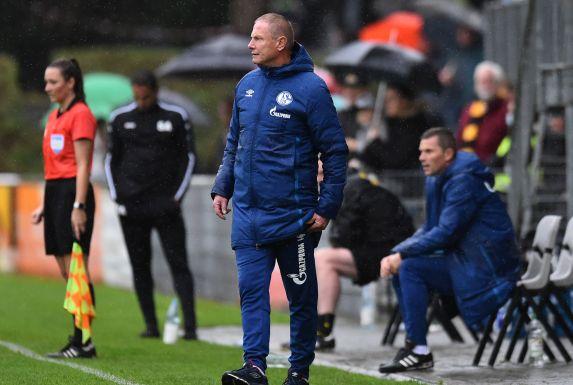 Torsten Fröhling, Trainer der U23 des FC Schalke 04, ist bereit für das Revierderby.