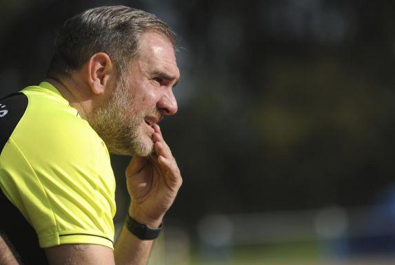 Sven Schützek kann mit den bisherigen Darbietungen seiner Mannschaft nicht zufrieden sein.