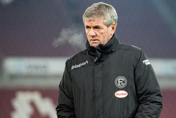 Friedhelm Funkel als Trainer von Fortuna Düsseldorf. Der 66-Jährige coachte auch schon den VfL Bochum.