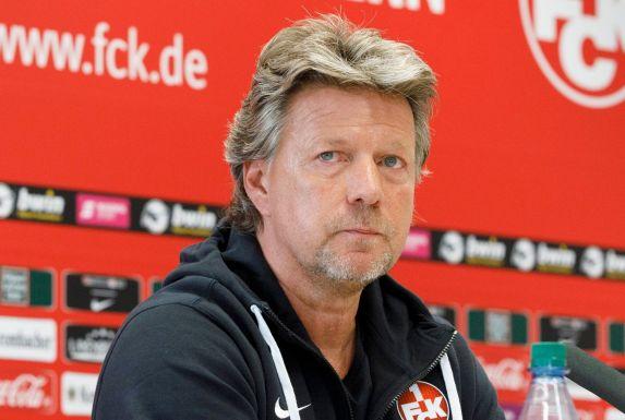 Kaiserslauterns Trainer Jeff Saibene.