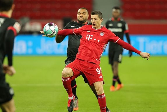 Der frischgebackene Weltfußballer erzielte beim 2:1-Sieg in Leverkusen beide Tore.