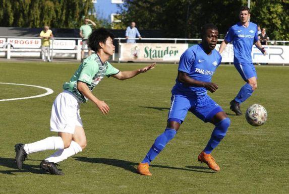 Von Engin Akkoca sehr geschätzt: Kosi Saka gehört seit sechs Jahren mittlerweile zum Kader der Baumberger.
