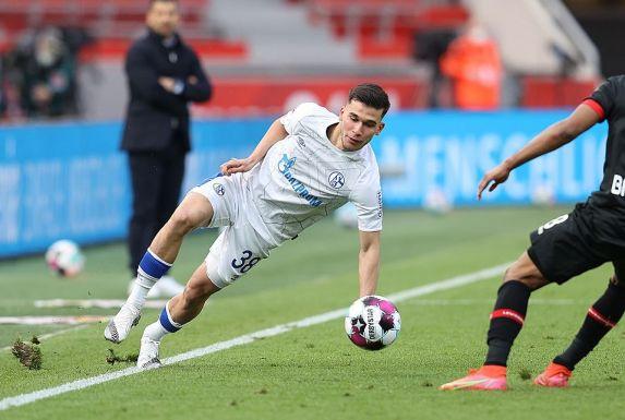 Feierte beim 1:2 in Leverkusen sein Debüt für den FC Schalke 04 in der Bundesliga: Mehmet Can Aydin.
