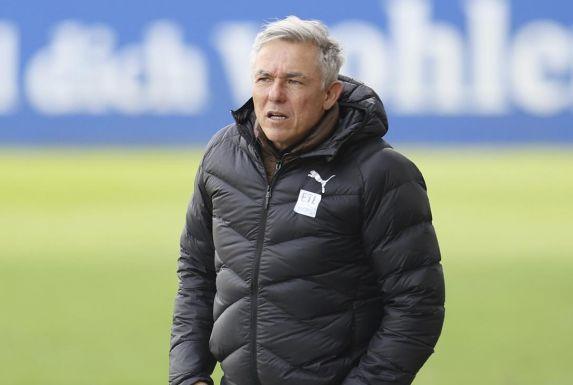 Viktoria Kölns Trainer Olaf Janßen.