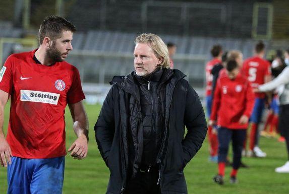 Sportchef Stephan Küsters (rechts) hofft, dass Marco Königs in dieser Saison noch zum Einsatz kommt.
